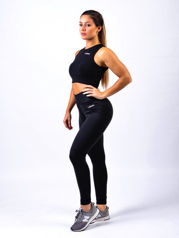 Lionn Crop Top Black