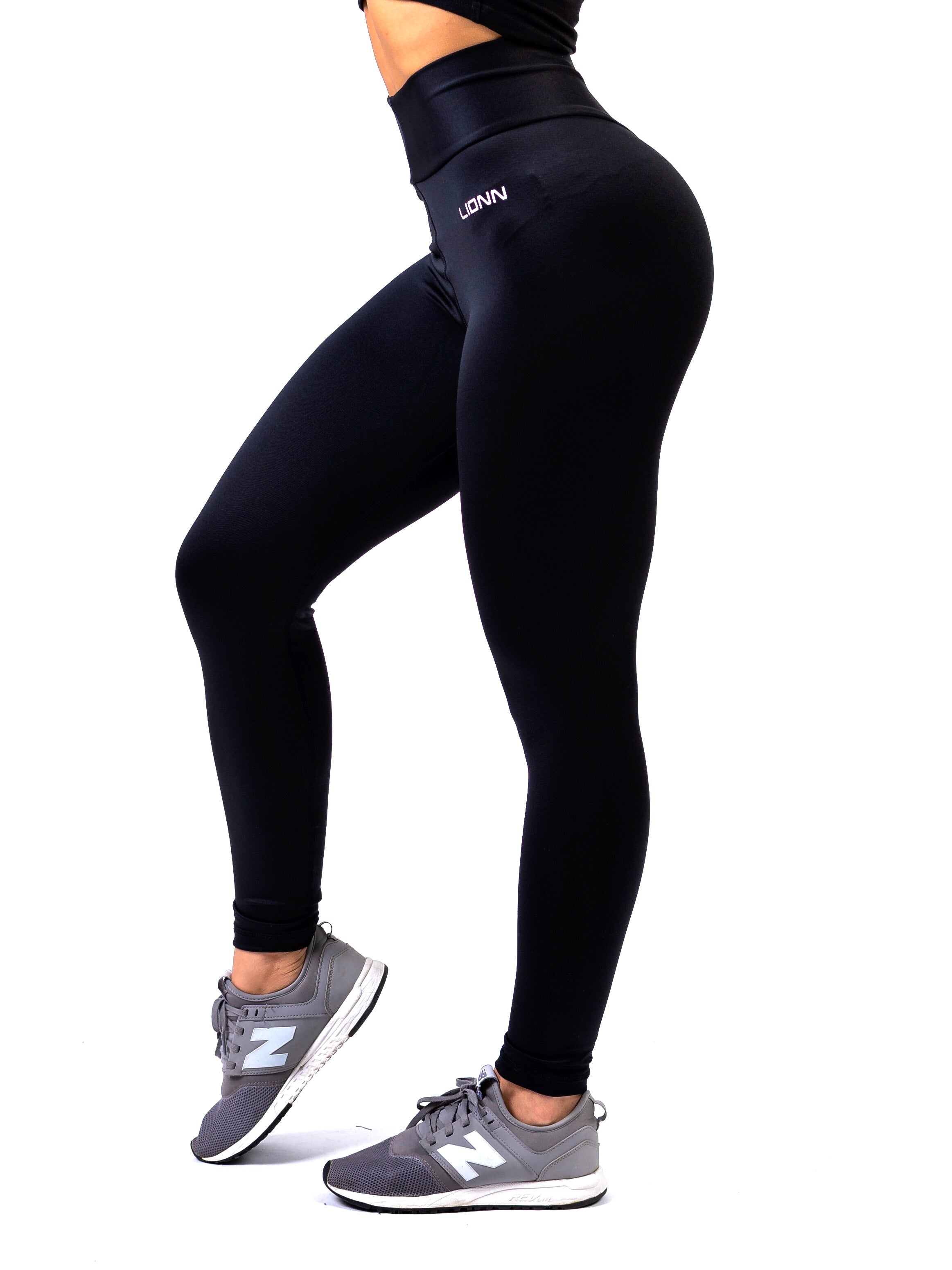 Lionn Ultra High Waisted Leggings Black