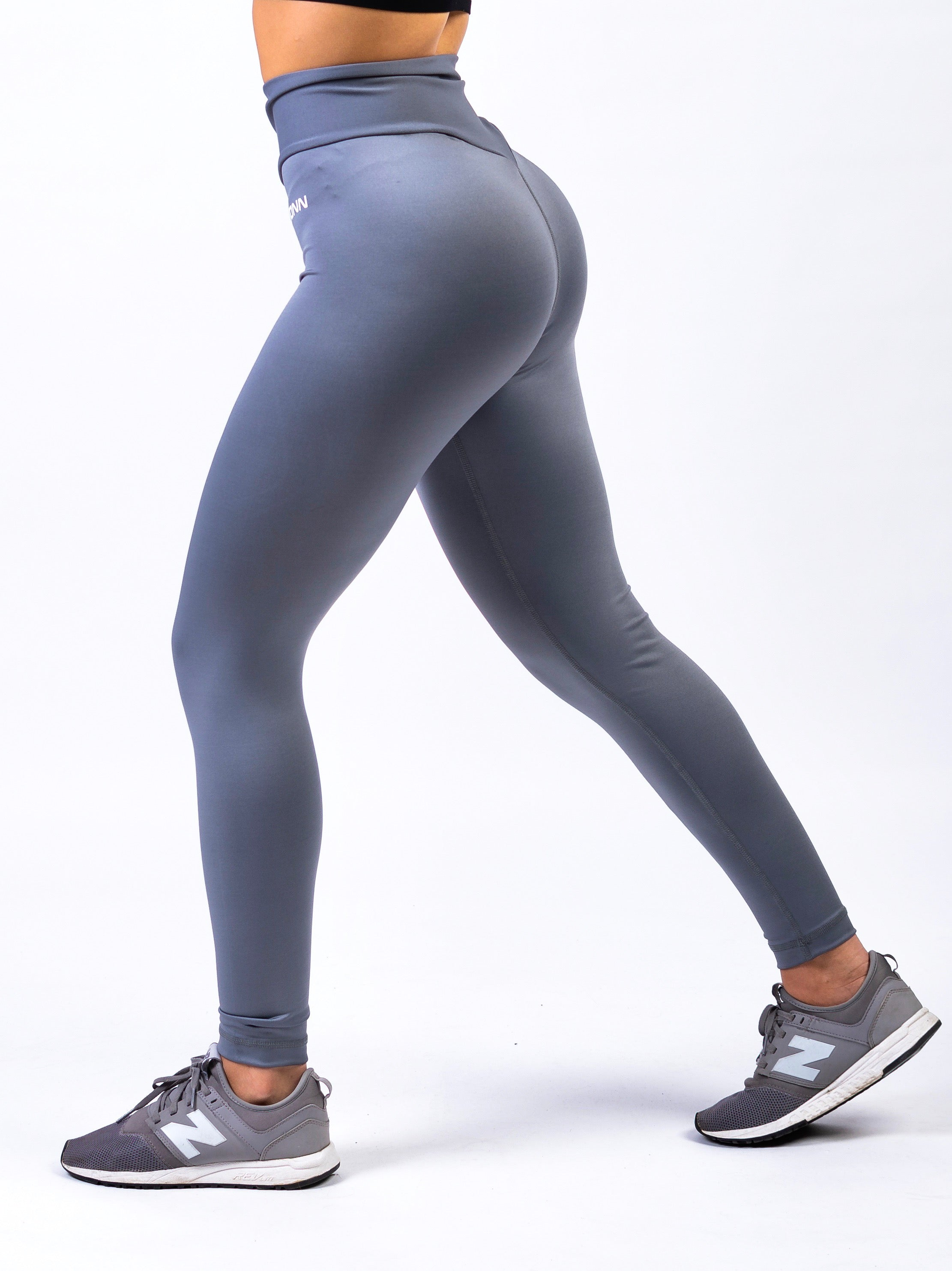 Lionn Ultra High Waisted Leggings Grey