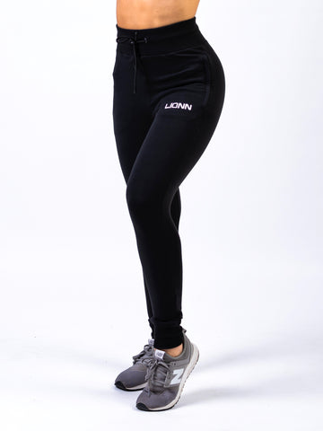 Lionn Fitted Casual Bottoms Black