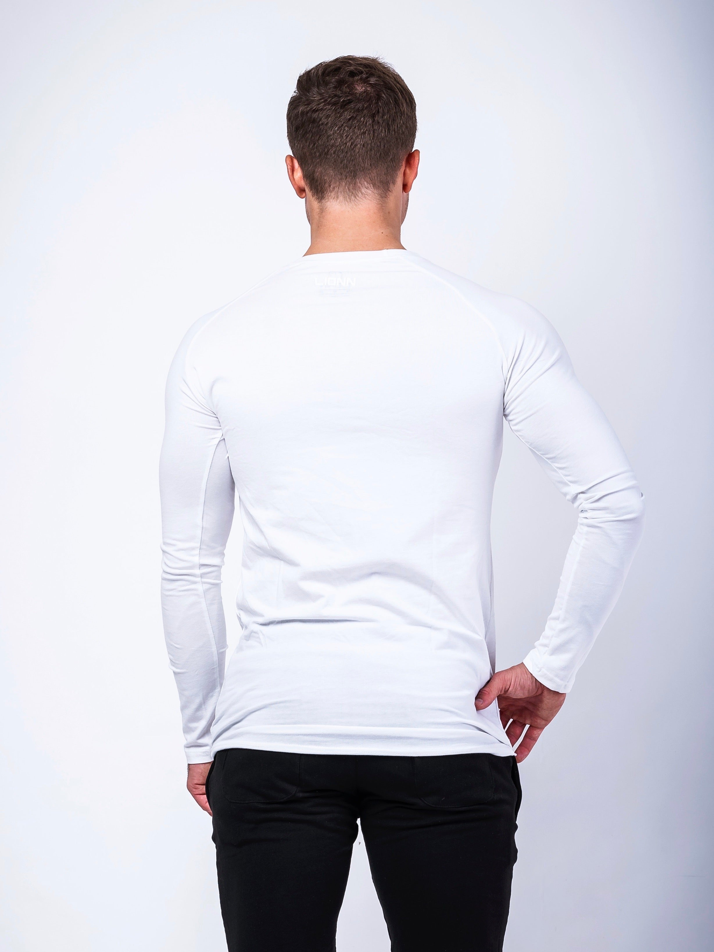 Premium Long Sleeve White