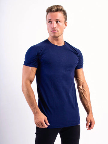 Fitness n' chill T-shirt Navy Blue