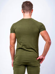 Statement T-Shirt Olive Green