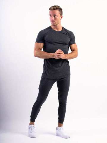 Fitness n' chill T-shirt Charcoal