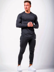 Premium Long Sleeve Charcoal