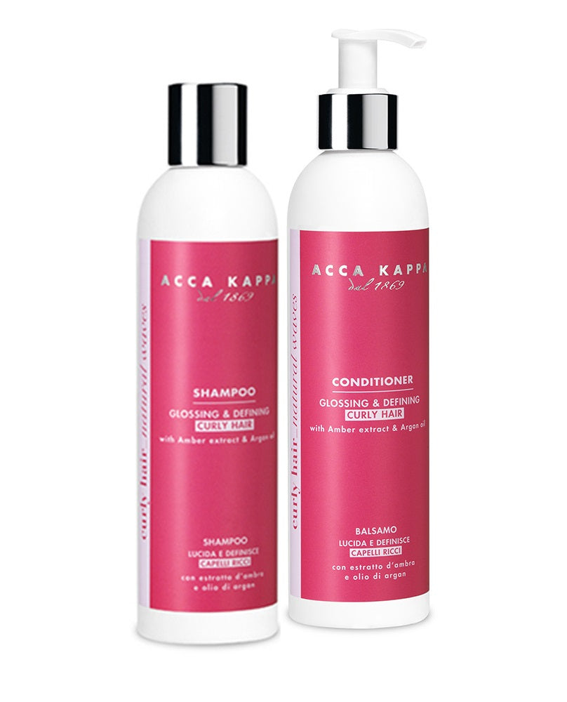 Curly, Glossing & Defining Shampoo & Conditioner