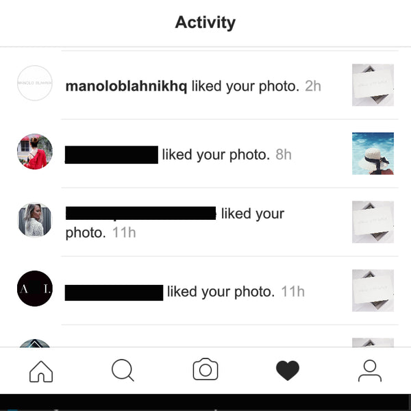 The Day Manolo Blahnik Liked Our Instagram