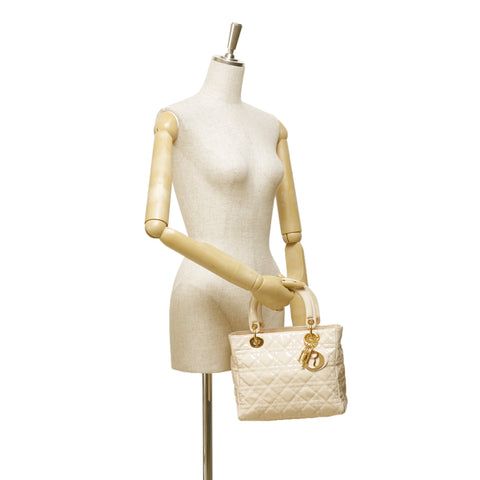 CHRISTIAN DIOR LADY DIOR MEDIUM - leefluxury.com