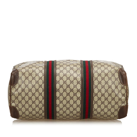 GUCCI GG WEB PLUS / SUPREME WEEKENDER CARRY ON BAG Shop the best value on authentic designer resale consignment on Leef Luxury