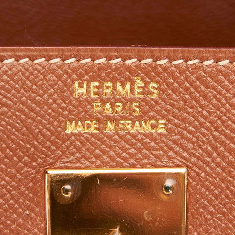 HERMÈS COURCHEVEL BIRKIN 35 BAG Shop online the best value on authentic designer used preowned consignment on Leef Luxury.