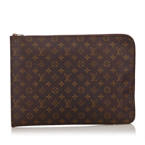 LOUIS VUITTON MONOGRAM POCHE DOCUMENT PORTFOLIO Shop the best value on authentic designer resale consignment on Leef Luxury