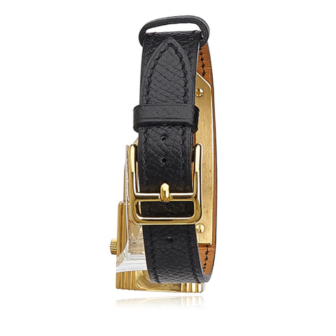 HERMÈS KELLY WATCH Shop online the best value on authentic designer used preowned consignment on Leef Luxury