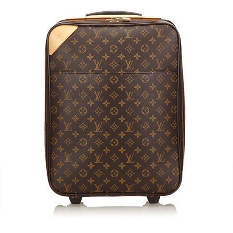 LOUIS VUITTON MONOGRAM PÉGASE 50 LUGGAGE Shop the best value on authentic designer used preowned consignment on Leef Luxury