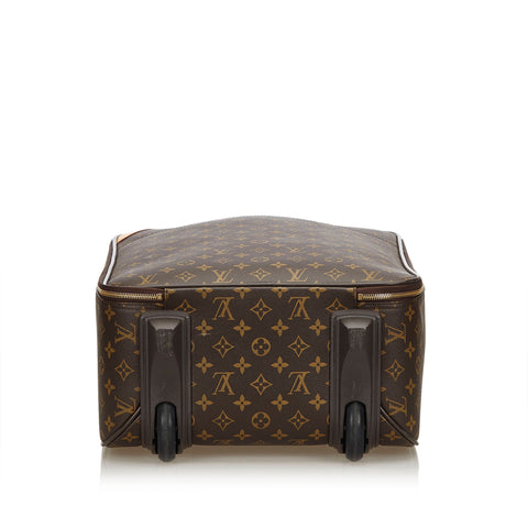 LOUIS VUITTON MONOGRAM PÉGASE 50 LUGGAGE - leefluxury.com