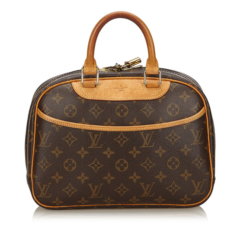 LOUIS VUITTON MONOGRAM TROUVILLE BAG Shop online the best value on authentic designer used preowned consignment on Leef Luxury.