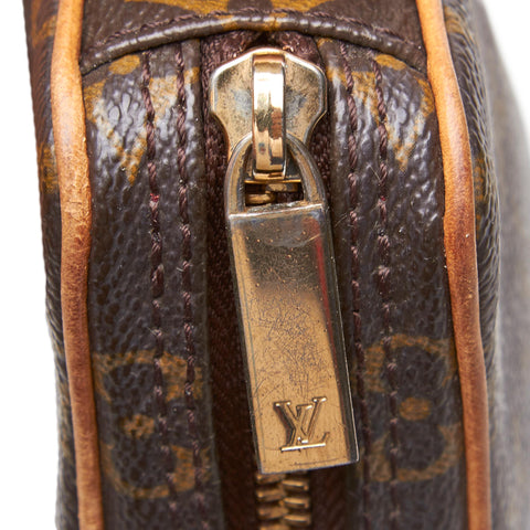 LOUIS VUITTON MONOGRAM CROISSANT MM SHOULDER BAG - leefluxury.com