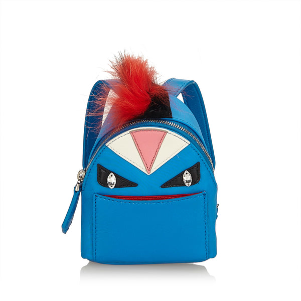 FENDI MINI MONSTER BACKPACK CHARM