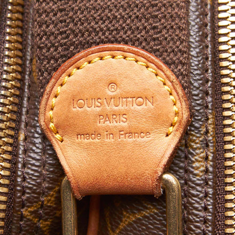 LOUIS VUITTON MONOGRAM REPORTER GM BAG - leefluxury.com