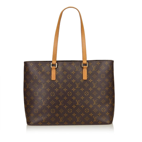 LOUIS VUITTON MONOGRAM LUCO TOTE BAG - leefluxury.com
