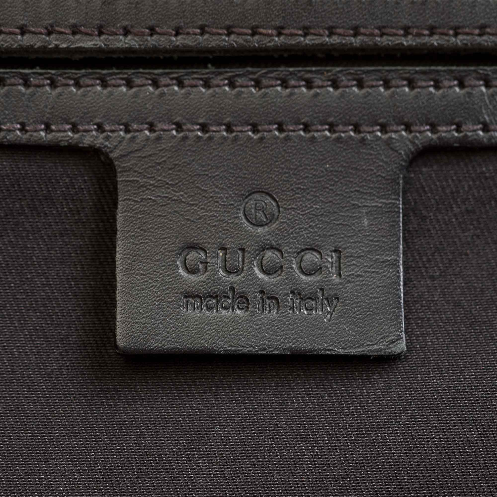 5546c314fe11 ... GUCCI SUPREME WEB MESSENGER BAG Shop online the best value on authentic  designer used preowned consignment ...