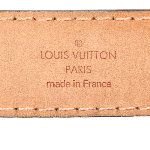 LOUIS VUITTON MONOGRAM BELT - leefluxury.com