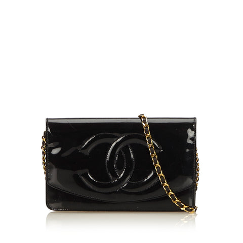 CHANEL TIMELESS WALLET ON CHAIN WOC BAG - leefluxury.com