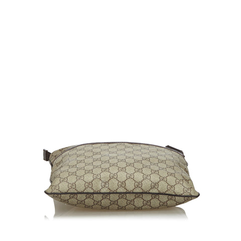 GUCCI GG SUPREME CROSSBODY MESSENGER TRAVEL BAG