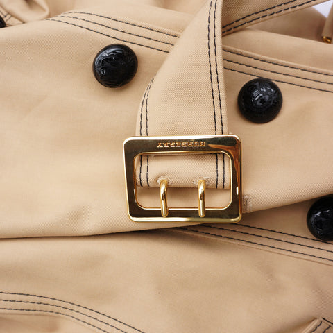 BURBERRY TRENCH LONG BELTED COAT NEW WITH TAGS - leefluxury.com