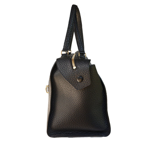 CELINE BULLHIDE LEATHER SMALL RING BAG - leefluxury.com