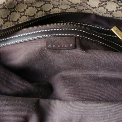 CELINE VINTAGE MACADAM SHOULDER BAG