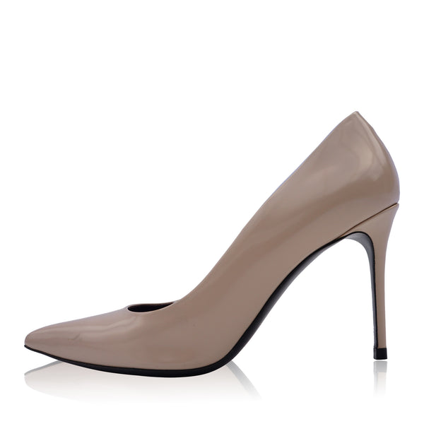 CELINE PHOEBE PHILO COLLECTION LEATHER POINTED TOE PUMP
