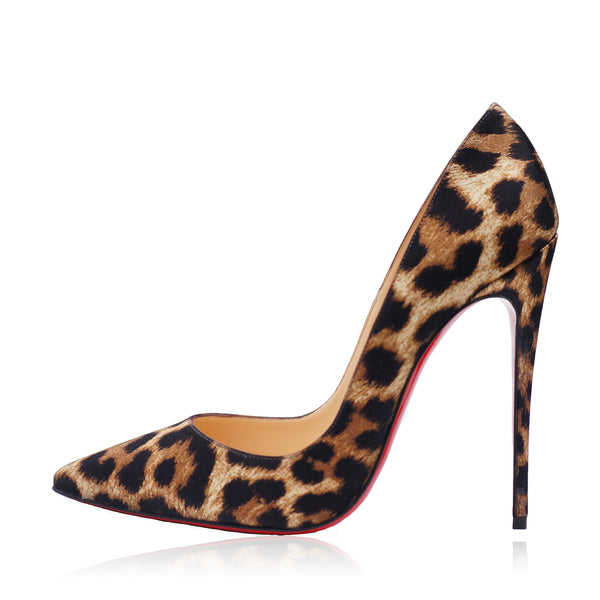 CHRISTIAN LOUBOUTIN SO KATE 120 CREPE SATIN PUMPS