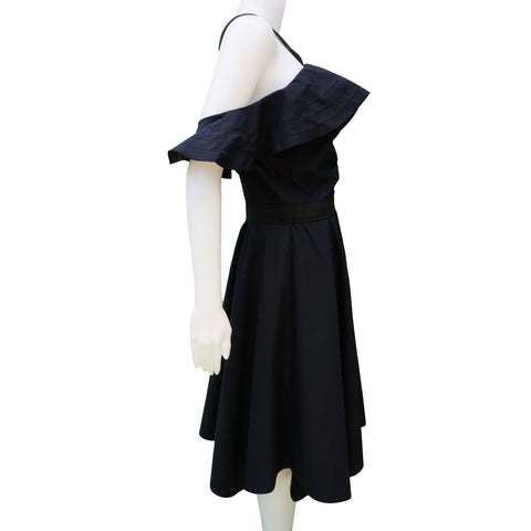 DEREK LAM 10 CROSBY COLDER SHOULDER DRESS - leefluxury.com