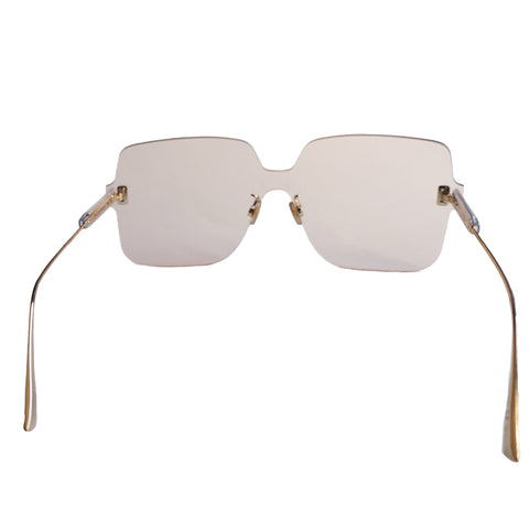 DIOR QUAKE1 SQUARE RIMLESS SUNGLASSES - leefluxury.com