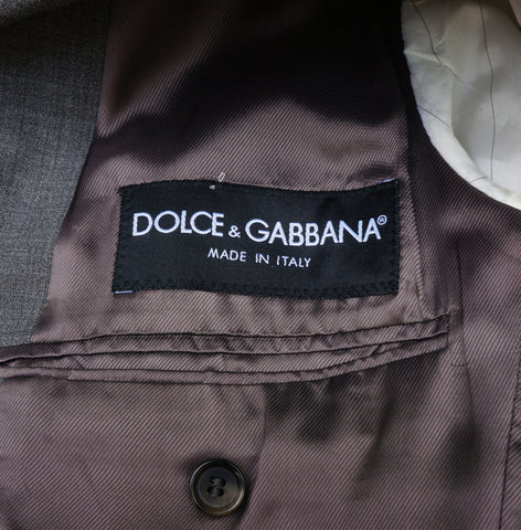 DOLCE & GABBANA NAILSHEAD TWO-BUTTON BLAZER