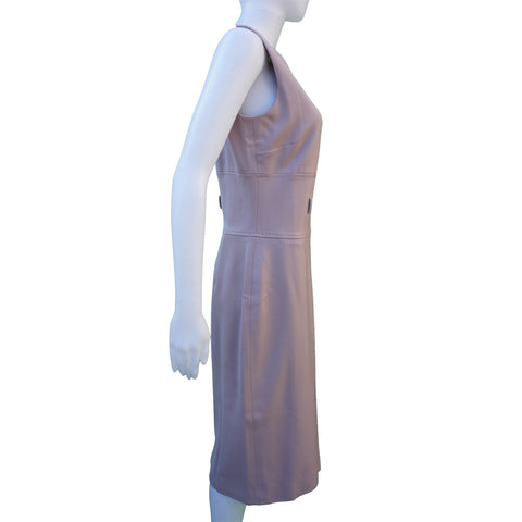DOLCE & GABBANA STRETCH WOOL SLEEVELESS DRESS Shop the best value on authentic designer resale consignment on Leef Luxury.
