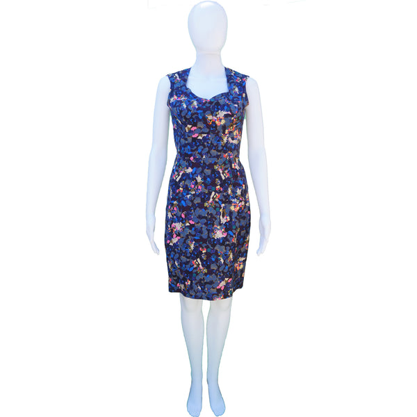 ERDEM DIGITAL PRINT DRESS