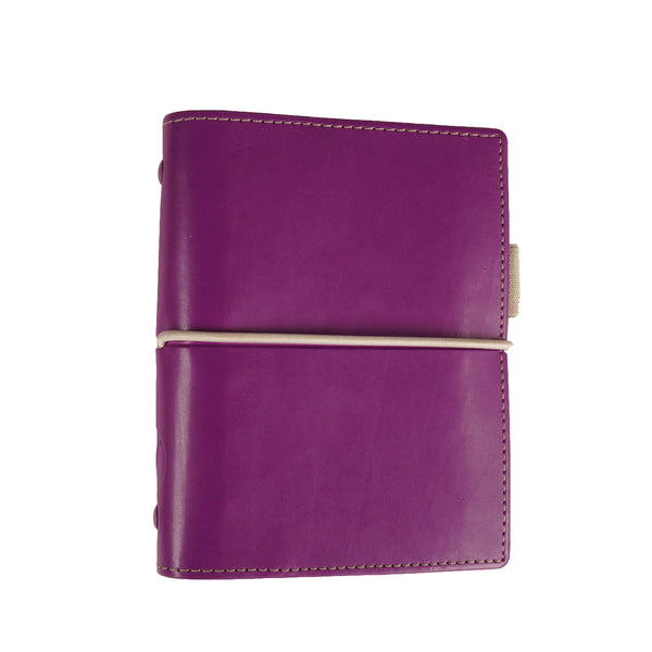 PURPLE FILOFAX DOMINO MINI AGENDA JOURNAL