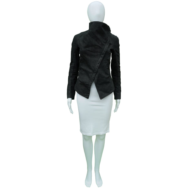 GARETH PUGH ASYMMETRICAL DENIM JACKET