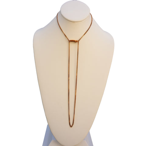 GIVENCHY SMALL SHARK TOOTH DOUBLE STRAND NECKLACE Shop online the best value on authentic designer used preowned consignment on Leef Luxury.