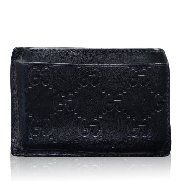 GUCCI GG GUCCISSIMA CREDIT CARD LEATHER HOLDER