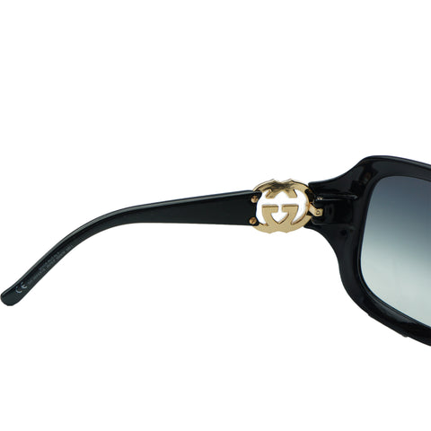 GUCCI GG BAMBOO GRADIENT SUNGLASSES Shop online the best value on authentic designer used preowned consignment on Leef Luxury.