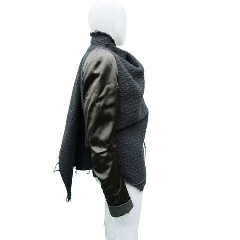 HAIDER ACKERMANN BOILED WOOL JACKET  Shop online the best value on authentic designer used preowned consignment on Leef Luxury.