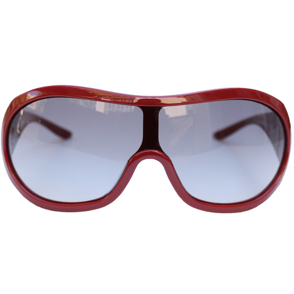MISSONI SHIELD BURGUNDY SUNGLASSES