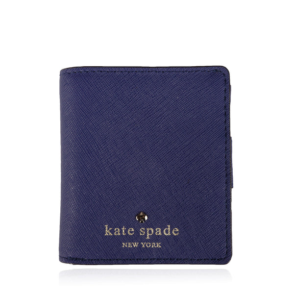 KATE SPADE NEW YORK LEATHER COMPACT WALLET