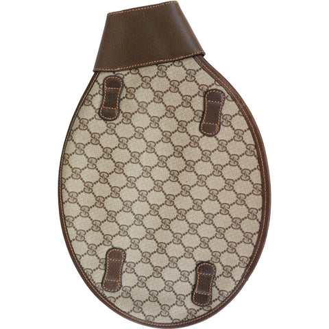 GUCCI GG SUPREME PLUS RACQUET TENNIS SQUASH COVER - leefluxury.com