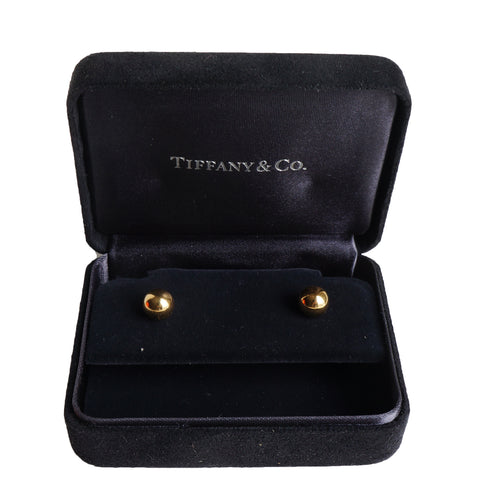 TIFFANY HARDWEAR BALL EARRINGS Shop the best value on authentic designer resale consignment on Leef Luxury