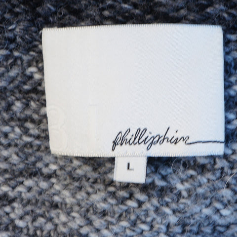 3.1 PHILLIP LIM WOOL-BLEND ZIP-UP SWEATER COAT - leefluxury.com