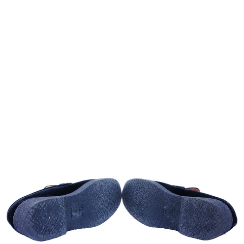 CÉLINE BLACK VELVET PLATFORM LOAFERS Shop the best value on authentic designer used preowned consignment on Leef Luxury