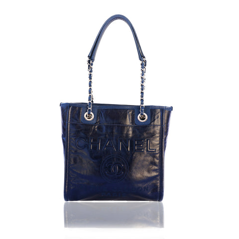 CHANEL 2016 MINI DEAUVILLE TOTE Shop the best value on authentic designer resale consignment on Leef Luxury.